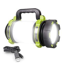Ultra Bright Multifunctional Camping  Ustellar Rechargeable