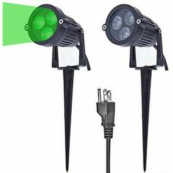 Lemonbest Pack of 2 Outdoor Water-resistant LED Lawn Garden